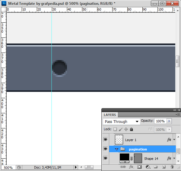Photoshop tutorial screen 12