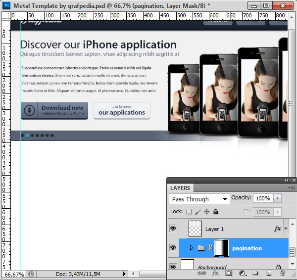Photoshop tutorial screen 14