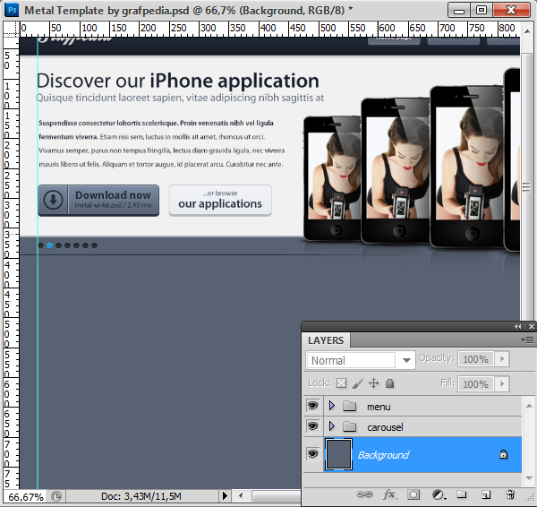 Photoshop tutorial screen 15