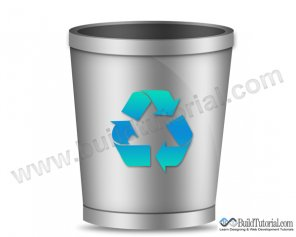 How to Create Recycle Bin Icon in Photoshop