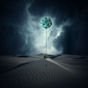 Photo Manipulate a Surreal, Gravity-Defying Desert Scene