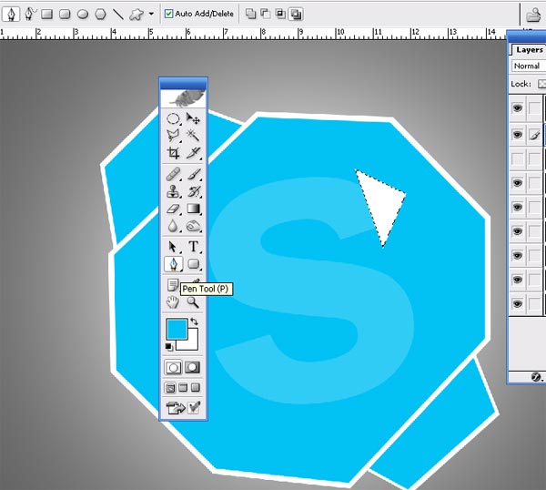 Shattered Skpe Icon I How To make Shattered Skype Icon in Photoshop