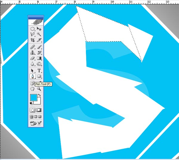 Shattered Skpe Icon J How To make Shattered Skype Icon in Photoshop