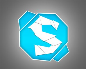 How To make Shattered Skype Icon in Photoshop