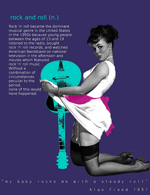 pin up typography