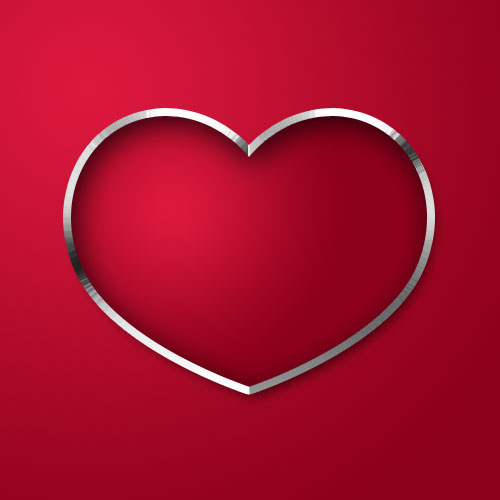 gaussian blur How To Create A Heart Icon In Adobe Photoshop