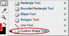 shape tool How To Create A Heart Icon In Adobe Photoshop
