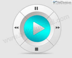 How to Create Media Player Button in Photoshop