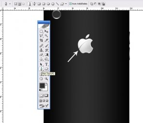 Learn To Make I Phone Back Side in Photoshop