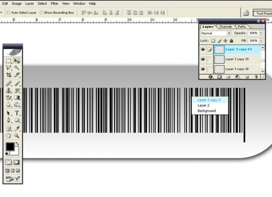 Illustration Barcode F Make Illustration Bar Code Vector in Photoshop