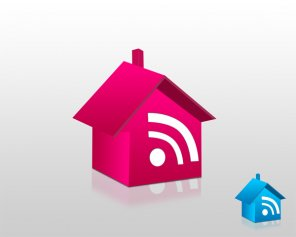 Learn How To Make Rss House Icon in Photoshop