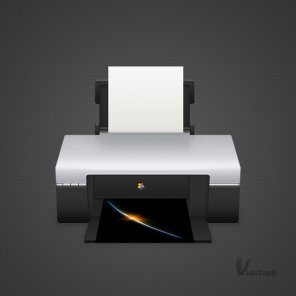 Draw a Detailed Printer Illustration From Scratch in Photoshop