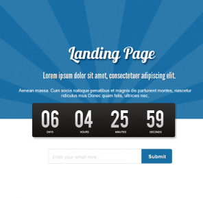How to Create a Minimalist Coming Soon Page in HTML5 and CSS3