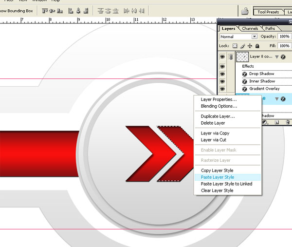 Red Arrow Button Vector I How To Make Red Arrow Button Vector in Photoshop