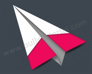 How to Create Paper Plane in Photoshop