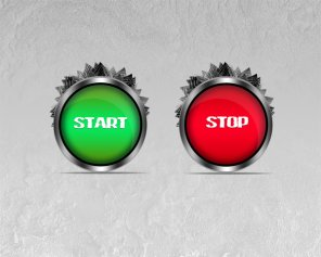 Create Web Start and Stop Buttons in Photoshop