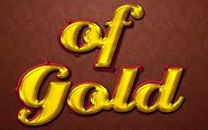 Stylish Gold Text Effect