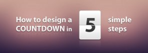 How to Design a Countdown in 5 Simple Steps Using Photoshop