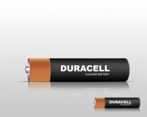 Make Duracell Battery Vector in Photoshop