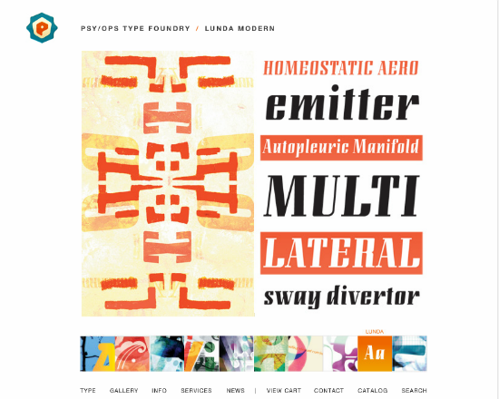 50 online type foundries to find best font to match your tone of voice