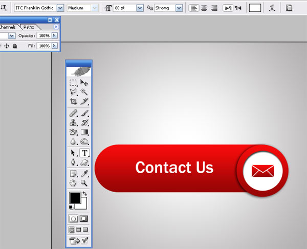 Web Contact Icon K How To Create Web Contact Icon in Photoshop