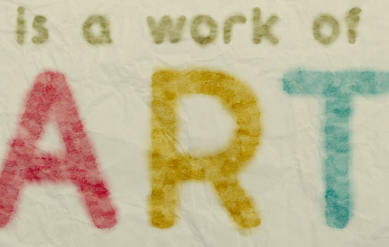 Smudged Watercolor Text Effect step 7