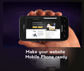 Taking your site to Mobile Ready without creating a Mobile Site