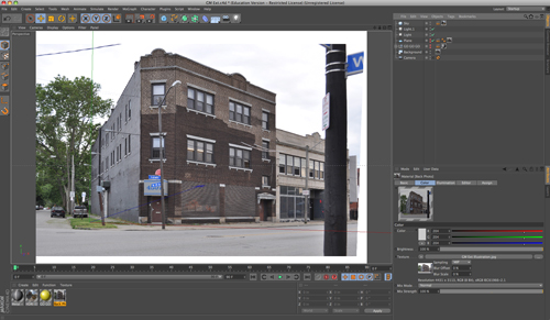 Creating an Architectural Illustration Using Reference Photography - Step 4