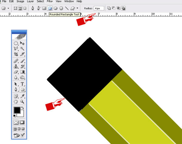 Pencil Icon J Learn How to make Pencil Icon in Photoshop