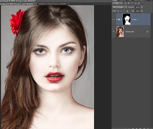 porcelain skin Photshop CS6 tutorial