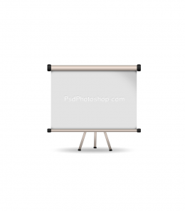 How to Create Simple Projection Screen in Photoshop