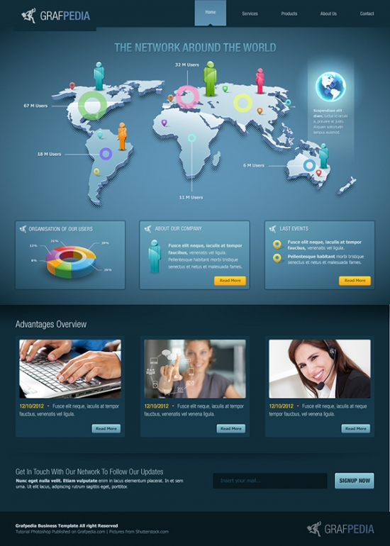 Preview Business Web Layout
