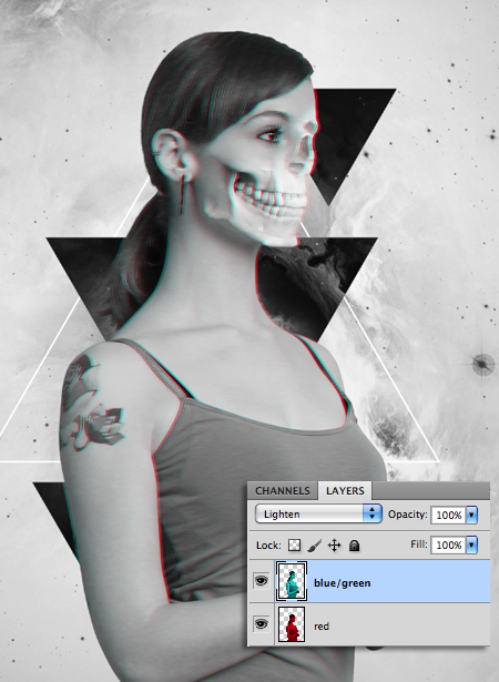 photoshop how to create negative mask