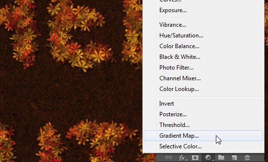 Colorful Autumn Text Effect step 8