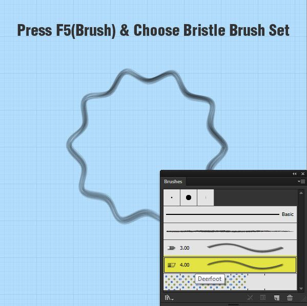 Bristel Brush in Illustrator CS6