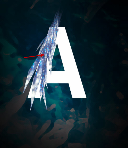 3 dup Create a Frozen Text Effect with Ice Particles in Photoshop