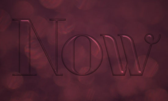 Ombre Text Effect step 3