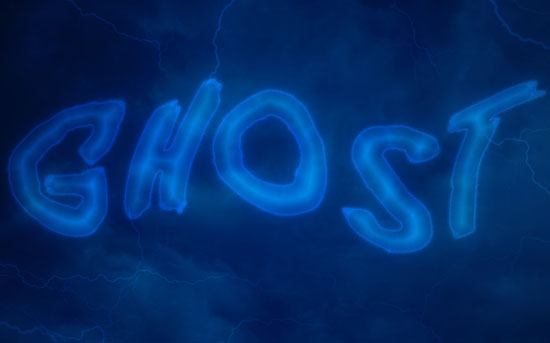 Ghostly Text Effect