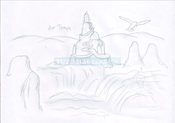 Air Temple Sketch