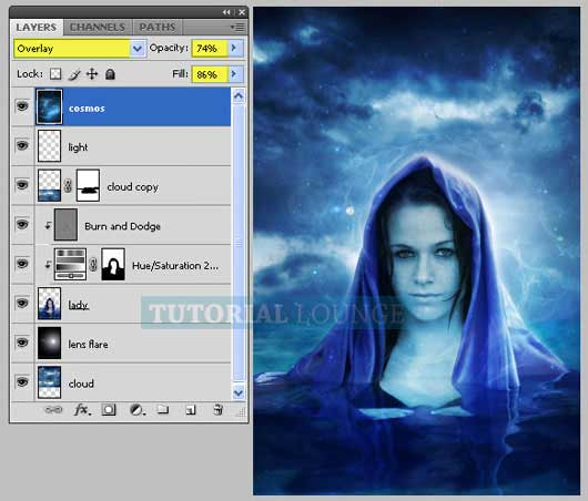 How to Create a Mystical Women in Photoshop