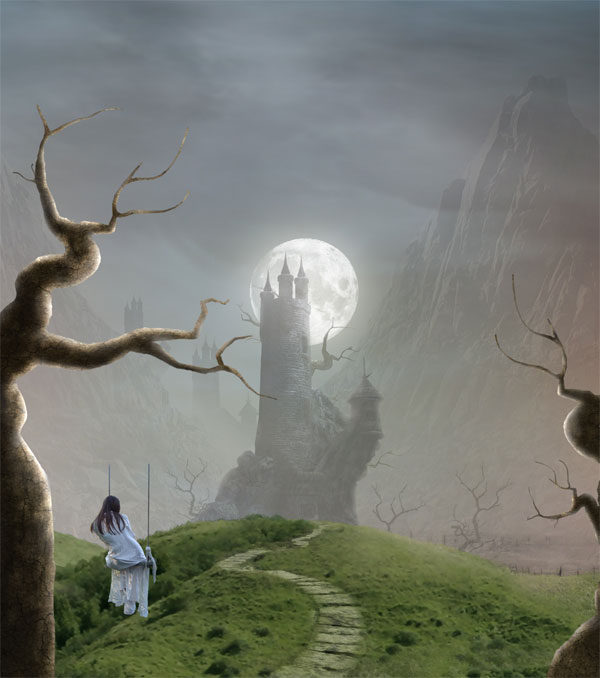 Create an Emotional Dreamscape Digital Photo Manipulation