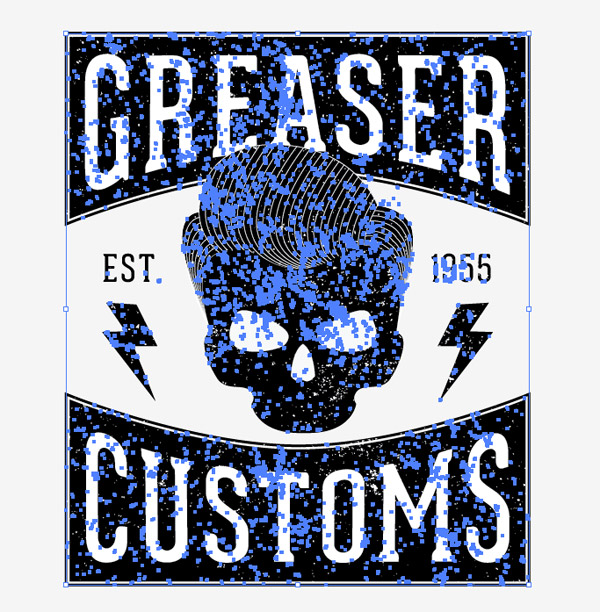 How To Create A Vintage Style Greaser T Shirt Design