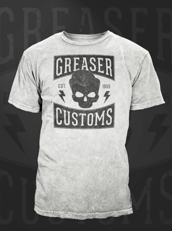 How to create a vintage style greaser t shirt design How to make t shirt designs in illustrator
