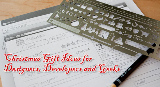 Christmas Gift Ideas for Designers, Developers and Geeks