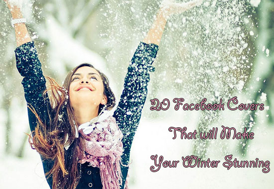 20 Facebook Covers That Will Make Your  Winter Stunning