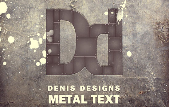 photoshop text tutorials