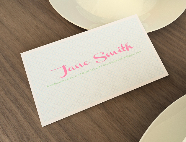 Cool But Still Free Business Cards Inspiration - Online business card template