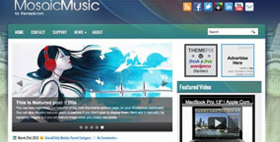 free wordpress template