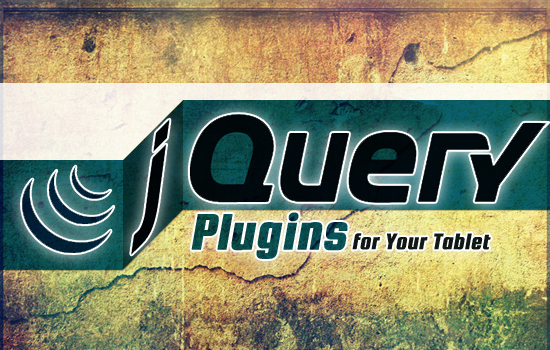 Useful jQuery Snippets and Plugins for Your  iPad