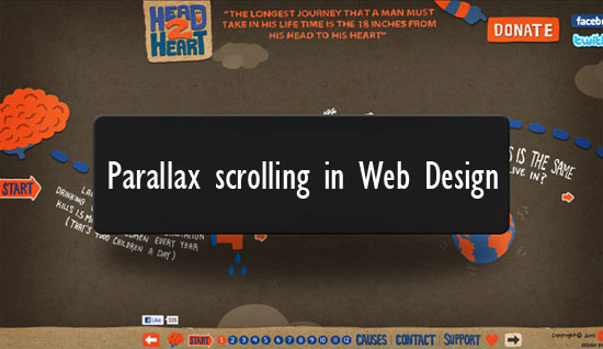 Parallax scrolling in Web Design: 20 Awesome Parallax Websites